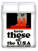 Keep These Off The Usa - Ww1 Duvet Cover