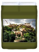 Keeper Of The Castle 2 Duvet Cover