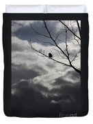 Keeping Above The Storm Duvet Cover