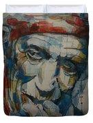 Keith Richards Art Duvet Cover