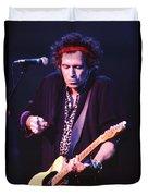 Keith Richards Duvet Cover