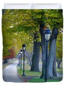 Kelly Drive In Autumn Duvet Cover