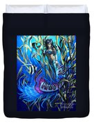 Kelp Mermaid Duvet Cover