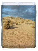 Kelso Dunes Mojave Preserve Portrait Duvet Cover