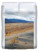 Kelso Dunes Winter Duvet Cover