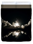 Kennedy Space Center, United States By Nasa Duvet Cover