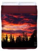 Kenosha Pass Sunrise Duvet Cover