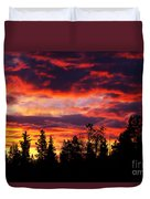 Kenosha Pass Sunrise Duvet Cover