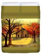 Kentucky Cabin Duvet Cover