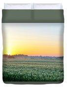 Kentucky Wheat Crop Duvet Cover