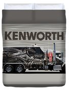 Kenworth Proudly Made In The Usa Duvet Cover