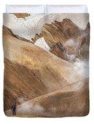 Kerlingafjoll Mountain Duvet Cover