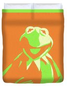 Kermit The Frog Duvet Cover