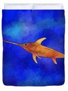 Kessonius V1 - Amazing Swordfish Duvet Cover