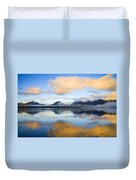 Ketchikan Sunrise Duvet Cover