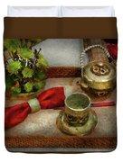 Kettle - Formal Tea Ceremony Duvet Cover