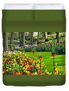 Keukenhof Ornamental Garden. Duvet Cover