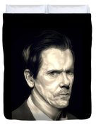 Kevin Bacon - The Following Duvet Cover