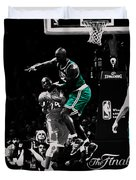 Kevin Garnett Not In Here Duvet Cover