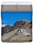 Key Monastery Duvet Cover by Yew Kwang