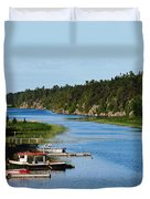 Key River Duvet Cover