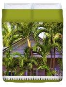 Key West Bungalow Duvet Cover