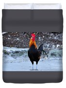 Key West Cock Duvet Cover
