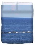 Key West Fishing Duvet Cover