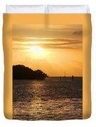 Key West Mangrove Sunrise Duvet Cover