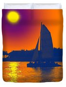 Key West Passion Duvet Cover