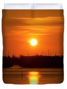 Key West Sunrise 36 Duvet Cover