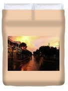 key West Sunrise Duvet Cover
