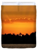 Key West Sunset 25 Duvet Cover
