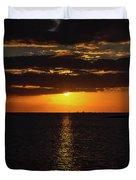 Key West Sunset 29 Duvet Cover
