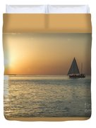 Key West Sunset Duvet Cover