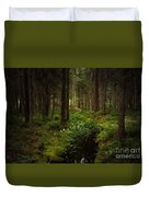 Keys In The Woods Duvet Cover