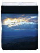 Keys View Sunset Landscape Duvet Cover