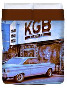 K G B Studios Los Angeles Duvet Cover
