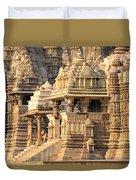 Khajuraho Temple, Chhatarpur District Duvet Cover