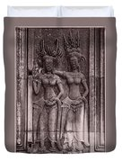 Khmer Court Dancers Duvet Cover
