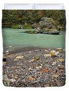 Khosty River. Duvet Cover