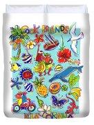 Kia Orana Cook Islands Duvet Cover