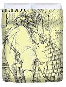 Kid Shelleen, Cat Ballou, Academy Award Winner  Lee Marvin Duvet Cover