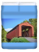 Kidwell Covered Bridge Duvet Cover