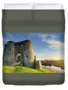 Kidwelly Castle 3 Duvet Cover