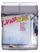 Kiesco Reina Duvet Cover