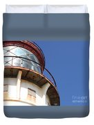 Kilauea Lighthouse Against The Sky Duvet Cover