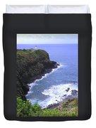 Kilauea Lighthouse And Bird Sanctuary Duvet Cover