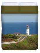 Kilauea Lighthouse Duvet Cover