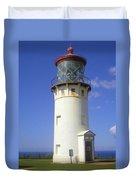 Kilaueau Lighthouse Duvet Cover